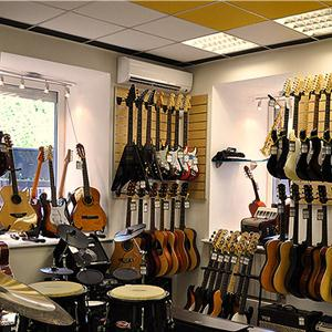 Музыкальные магазины Богатых Сабов
